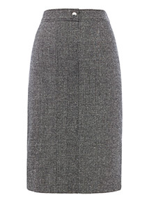 Monochrome Pencil Skirt