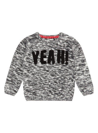 Grey Yeah Slogan Jumper (1- 24 months)