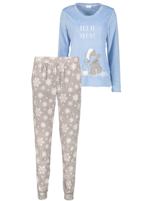 Blue 'Me To You' Tatty Teddy' Pyjamas