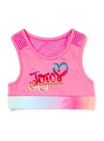 Pink Jojo Crop Top (3-14 years)