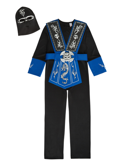 Halloween Outfits For Kids.Sku Ninja Black
