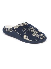 Floral Capsule Mule Slippers