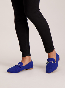 Sole Comfort Royal Blue Buckle Loafer