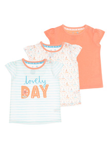 Lovely Day Tees 3 Pack (0 - 24 months)