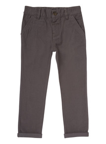 Boys Grey Chino Trouser (9 months-6 years)