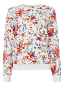 Multicoloured Floral Sweater