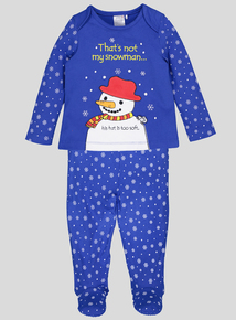 Christmas Usborne 'That's not my snowman' Pyjama Set (Newborn - 18 months)