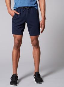 Admiral Performance Navy Sweat Shorts