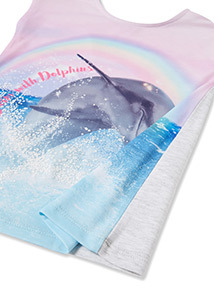 Multicoloured Dolphin T-Shirt (3-14 years)