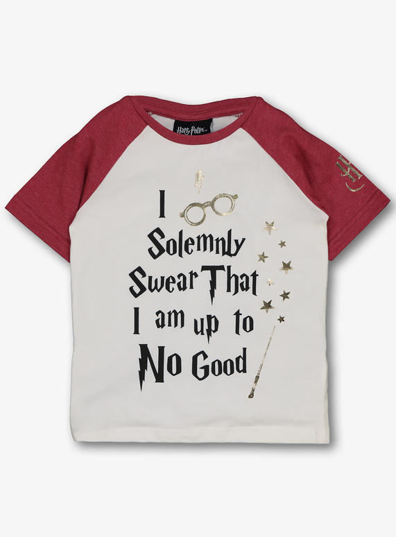 a095d24a4 Kids Harry Potter White Slogan T-shirt (18 months - 6 years) | Tu clothing