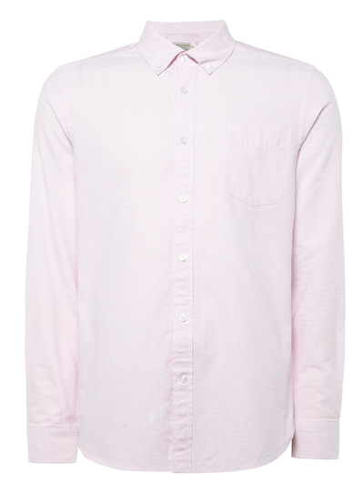 Pink Bengal Stripe Oxford Shirt
