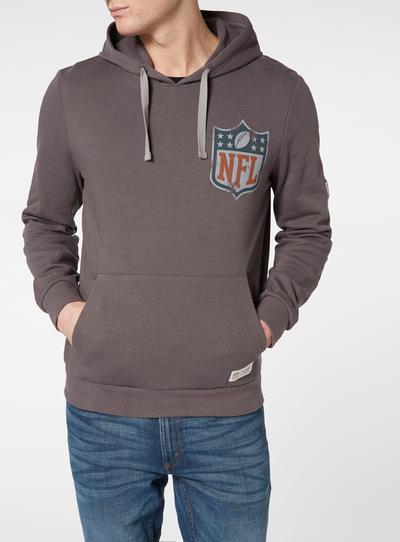 9191da8c2 Menswear Charcoal NFL Print Hoodie