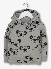 aef95ea76d17 Out of stock Grey Koala Hooded Sweater ...