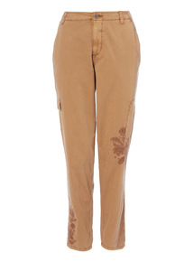 Camel Utility Trousers