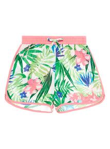 Multicoloured Flamingo Shorts (3 - 14 years)