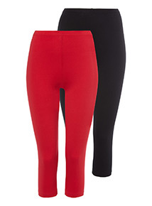 2 Pack Crop Leggings