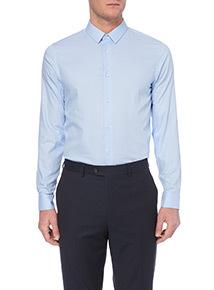 Blue Slim Fit Shirt