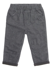 Dark Grey Cord Trouser (0-24 months)