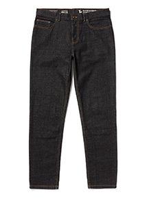 Denim Black Wash Slim Jeans With Stretch