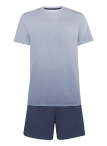 Blue T-shirt With Shorts