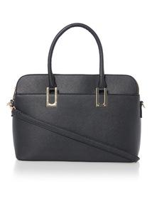 Black Multi Compartment Bag
