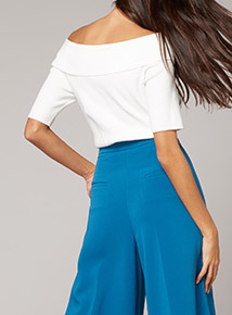 Premium Bardot Knit Top