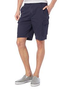 Navy Basic Cargo Shorts