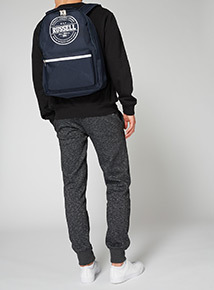 Russell Athletic Navy Backpack