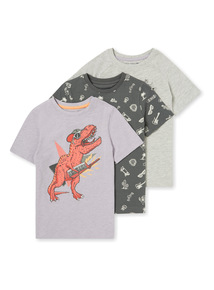 3 Pack Coachella T-Shirt (3-14 years)