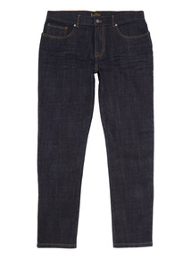 Rinse Wash Tapered Stretch Jeans