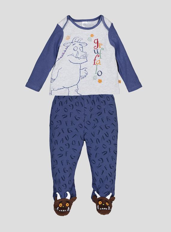 License & Character Shop Gruffalo Blue Pyjamas (newborn-24 months ...