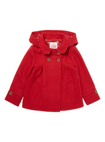 Red Formal Coat ( 9 months - 6 years)