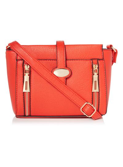 Red Cross-Body Bag