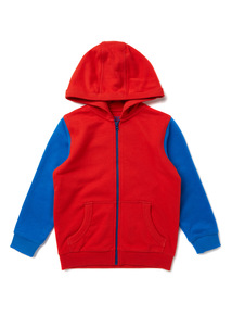 Multicoloured Zip Through Hoody (9 months-6 years)