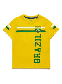 Yellow Brazil T-Shirt (3-14 years)