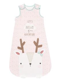 Pink Deer Sleeping Bag (0-24 months)