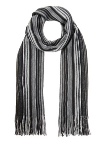 Black Brushed Rochelle Scarf
