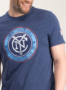 3fd9f524 Online Exclusive MLS New York City FC Blue T-Shirt