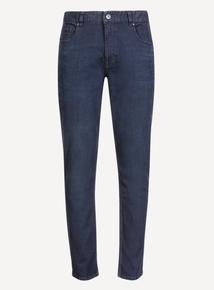 Indigo Wash Stretch Denim Skinny  Jeans