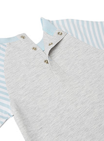 2 Piece Blue Boat T-Shirt and Joggers Set (0-24 months)