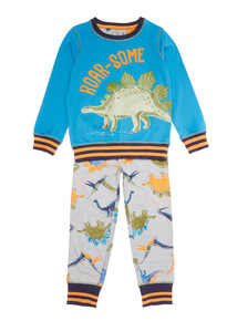 Blue Dinosnore PJ (2-12 years)
