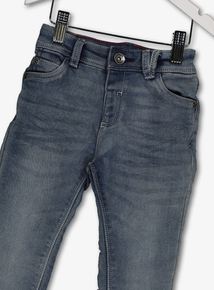 Grey Loopback Skinny Fit Denim Jeans (9 months-6 years)