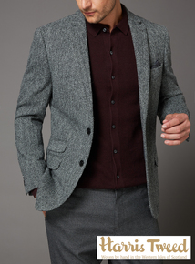 Harris Tweed Slim Fit Jacket