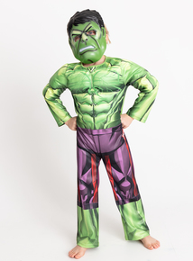 Online Exclusive Marvel Avengers Hulk Costume (3-10 years)