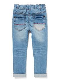 Blue Denim Rip and Repair Jeans (9 months-6 years)