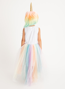 Unicorn Costume With Wig (3-12 Years)
