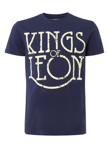 Navy Kings of Leon T-shirt