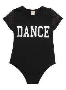Black Dance Leotard (3 - 12 years)