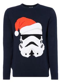 Navy Star Wars Storm Trooper Jumper