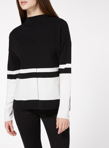 Mono Funnel Neck Compact Jumper